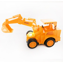 Wholesale Wholesale Toy Tractors - 2017 New Miniature Kingdom Death Brinquedos Excavator Toy City Construction Bulldozer Tractor Cars Kit Kids Building Machinery Gifts Truck