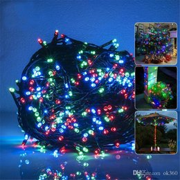 Wholesale Solar Led 12m - Waterproof LED Solar String Light 7M 12M 22M Solar Fairy String Light Outdoor Garden Wedding Decoration Christmas Holiday Light