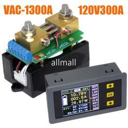 датчики постоянного тока Скидка Freeshipping VAC1300A Multifunction Wireless Bi-directional Volt Ammeter Capacity Watt Table Coulometer