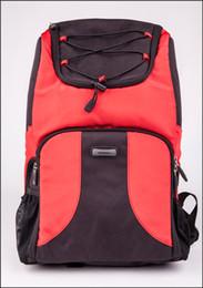 Wholesale Hard Dslr Camera Bag - free shipping European Style Fabric Cotton Canvas DSLR Camera Backpack Travel bagpack Mesh Pockets 2017 High Quality Professional bag