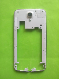 Wholesale Mega House - Brand New Middle Bezel Back Frame Back Chassis Plate Case For Samsung Galaxy Mega 6.3 I9200 Housing+Rear Camera Glass Lens