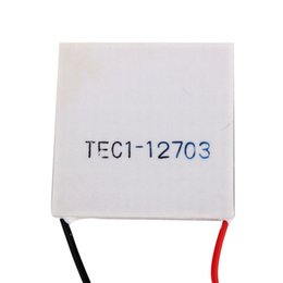 Wholesale Peltier Modules - Wholesale- TEC1-12703 Heatsink Thermoelectric Cooler Cooling Peltier Plate Module Cooling Accessories