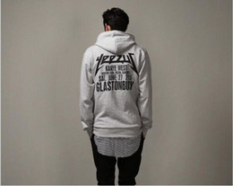 Wholesale Oversize Clothing - Wholesale-Free shipping kanye west yeezus tour Hoodie swag Fleece Hoody Sweatshirts hip hop pullover oversize Streetwear clothes