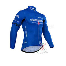 Wholesale Ropa Hombre Hot Men - Hot! Men Tour de Italy long sleeve cycling jersey sport jacket Cycle Clothing ropa ciclismo hombre bike Clothes racing mountain D0756