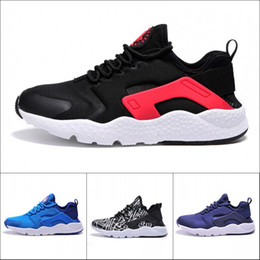 Wholesale Body Breathe - 2017 New Huarache 3 Black Knight Running Shoes For Women & Men, Ultra Breathe Athletic Sports Sneakers Outdoor Shoes 36-45