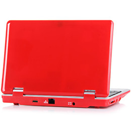 Wholesale Mini Netbook Inches - 7 inch Mini laptop VIA8880 Netbook Android laptops VIA8880 Dual Core Cortex A9 1.5Ghz 4GB 8GB Netbook Retail