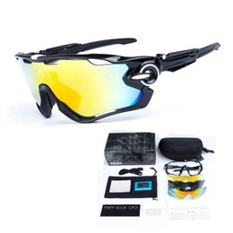 Wholesale Bicycle Sale Cheap - Factory Sale 3 Lens Bicycle Sunglasses Outdoor Bicycle Glasses UV400 Polarized Cycling Eyewear Goggles 2017 Cycling Eyewear Cheap Gear