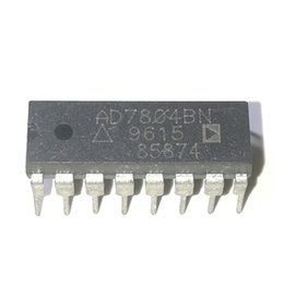 Wholesale Camera Input Mobile - AD7804BN . AD7804B , SERIAL INPUT LOADING, 1.5 us SETTLING TIME, 10-BIT DAC, dual in-line 16 pin DIP plastic package IC   AD7804BNZ . PDIP16