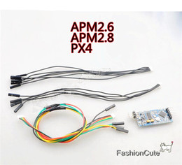 Wholesale Apm Osd - Wholesale- On-Screen Display 3DR Mavlink Mini OSD Board APM Telemetry for Pixhawk PX4 APM 2.6 2.8 Flight Control Board with Cable
