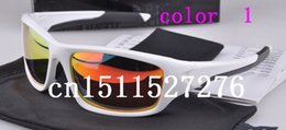 Wholesale Square Valve - High Quality Fashion Full-Rim Valve Polarized Sunglasses Shades +Case Goggle Outdoor Cycling Dazzling 11 Colors Free Shipping