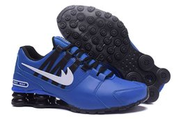 Wholesale Shoes Sport R4 - Cheap basketball shoes for mens running discount price with box men air shox avenue 803 R4 NZ man shox turbo sports designer sneakers