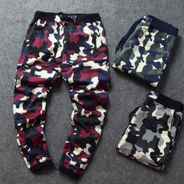 Wholesale Animal Print Pants For Women - Camo baggy Joggers 2017 New Arrival Fashion Slim Fit Camouflage Jogging Pants Men Women Harem Sweatpants Cargo Pants for Track Training