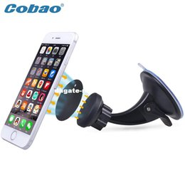 Wholesale Apple Iphone 4s Phone Support - Magnetic Car Dashboard Mount Phone Holder Car Kit Magnet Support For Ipad ipphone 4 4s 5 5c 6 plus Samsung Ipad Smartphone