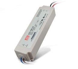 Wholesale led driver 12v input - 100% Original LPV-100 100W waterproof LED power supply Meanwell Driver outdoor Lighting Transformers UL Output DC5V 12V 15V input 90V~264VAC