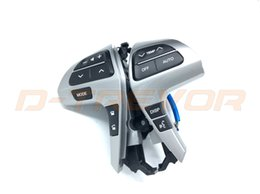 Wholesale Toyota Camry Audio - Bluetooth Audio Steering Wheel Control Switch For 2009-2015 Toyota Highlander Camry 84250-0E220 842500E220