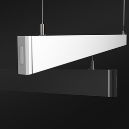 Wholesale linear pendant - 2017 New Design 36W Black Linear Led Light With 5 Years Warranty Shop Lighting