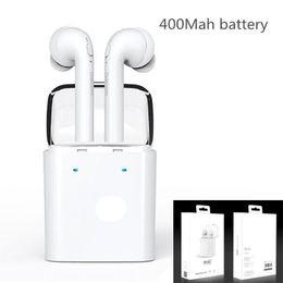 Wholesale Original Smartphones - Original Dacom 7s True Wireless Bluetooth Earbuds earphone For iPhone 7 7 plus Double Twins Earphones for iphone samsung Smartphones OTH210