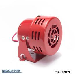 Wholesale Alarm Siren Horn - Tansky -high quality New 12V Motor Driven Red Air Raid Siren Horn Alarm Horn Car Truck TK-HOM070