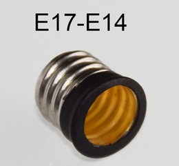 Wholesale E17 E14 Adapter - 20pcs lot. CTT E17 to E14 lamp holder adapters  convertor High quality material fireproof material socket adapter