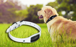 Wholesale Free Real Dogs - New Arrival Waterproof Silicon Pets GPS Collar S1 Real time GPS Tracker for Cats Dogs with GPS+LBS+WIFI Geofence Free APP Ann