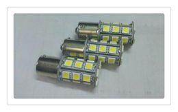 Wholesale Led Bulbs Rectangle Flood - DHL HOT High Quality 1156  1157 T10 T15 T20 led light bulb 18 smd 5050 Brake Tail Turn Signal Light Bulb Lamp 12V