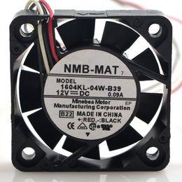 Wholesale 12v Servo - NMB 1604KL-04W-B39 4cm 4010 DC 12V 0.09A For Yaskawa servo drive cooling fan