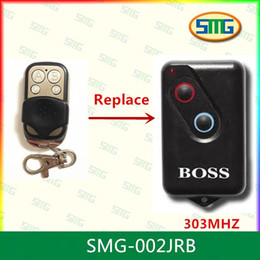 Wholesale Universal Remote Door Opener - Wholesale- Universal duplicator Garage door opener BOSS 303mhz remote control X2