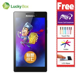 "Wholesale Gps Tab - Wholesale- 7"" Tablet pc Lenovo TAB 2 A7-30HC MTK Android 4.4 1GB RAM 16GB ROM 3450mAh 1080P GPS GSM WCDMA Support Multi-language"