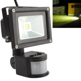 Wholesale Led Outdoor Floodlight Motion Sensor - 20W PIR Infrared Body Motion Sensor LED Flood Light AC 85-265V Waterproof Landscape Lamp Garden Refletor Spotlight Floodlight LEG_846