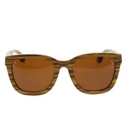 Wholesale Lentes Sol Mujer - HALLOWEEN GIFTS Carter Sunglasses Men Women oculos de sol feminino Sunglasses Vintage Zebra Wood lentes de sol mujer 2017 G003A