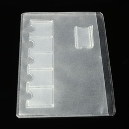 Wholesale Easy Sim - Wholesale- 6 Sim Card Storage Bags Easy Carry For Sim Memory Card Storage Box Case Clear Transparency Storage Case Cover Holder Protector