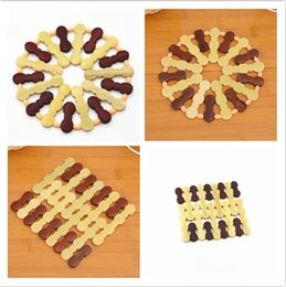Wholesale Heated Coffee Cup Pads - environmental kitchen accessories heat insulations Bamboo bowl pad coffee bowl cup mat drink coaster placemat IA561