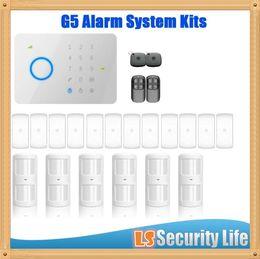 Wholesale Burglar Home Alarm System - CG315 433kit universal 315Mhz 433mhz CHUANGO G5 GSM SMS Home Burglar Security Alarm System