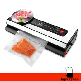 Wholesale Vegetable Equipment - Mini home vacuum sealer with electronic balance automatic food vacuum sealer fruit vegetable preservation equipment food sealer