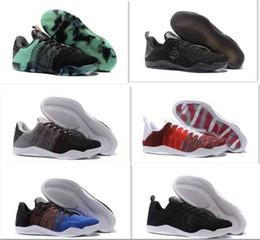 official photos 56022 5f793 2017 Nuevas mujeres Barato Venta kb 11 Zapatos de Baloncesto Elite para la  Mejor calidad Negro Blanco XI KB Weaving Sports Training Sneakers Tamaño