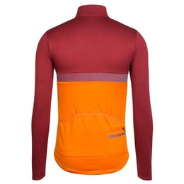 Wholesale Race Wear Shirts - Rapha Cycling Jerseys 2016 Long Sleeves Winter Cycling Shirts Thermal Fleece Bike Wear Comfortable Breathable Hot New Rapha Jerseys 4 Colors