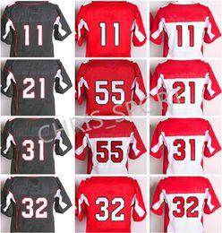 Wholesale Mathieu Football Jerseys - Elite football jersey 11 Larry Fitzgerald 3 Carson Palmer 21 Patrick Peterson David Johnson Tyrann Mathieu Chandler Jones Michael Floyd