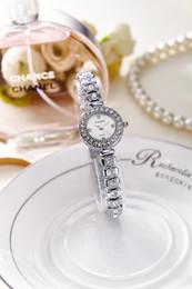 Wholesale Yaqin Quartz - water-proof women watch zricon rhinstone jewelery bracelet watches luxury wristwatch female yaqin fashion tiecepiece dress gold AAA clock