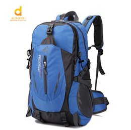 Wholesale Bedding Purple Green - Outdoor travel Big bag 40L leisure sports package special hiking Shoulder Bag With Waterproof able to take hammock and sleeping Bed bag111