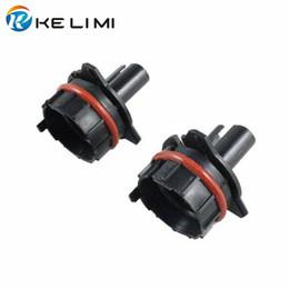 Wholesale Bmw E39 Headlights Xenon - Vehicle Car headlight fog light hid conversion Kit Xenon H7 bulbholders base adapter for BMW 5-series E60 E39