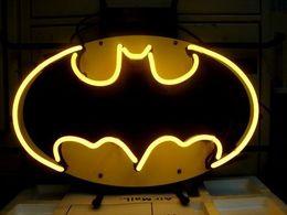 Wholesale Batman Display - Fashion New Handcraft Batman Action Hero Real Glass Tubes Beer Bar Pub Display neon sign 19x15!!!