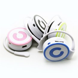 Wholesale watches memory cards - Wholesale- High quality Hang ear Clip MP3 Player with 4 Candy Colors No Memory Card Music Player with TF Slot