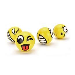 Wholesale Smiley Stress Balls - 12 Anti Stress Smiley Face Reliever Ball Autism Mood Squeeze Relief ADHD Toy Emoji Faces Hand Wrist Finger Exercise