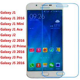 Wholesale Screen Protector Film Ace - 9H 2.5D New Premium Real Tempered Glass Film Screen Protector for Samsung Galaxy J1 Ace Mini J2 Prime J3 Pro J5 2016