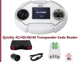 Wholesale Transponder Key Chip For Honda - 2017 new good Programmer ID4C Promotion Quickly 4C 4D 46 48 Code Reader Chip Transponder Key Programmer ID4C ID4D ID46 ID48 Key Programmer