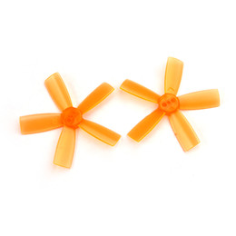 Wholesale Racing Paddles - 2 pairs 2035 Propeller 2 inch 50.8mm PC Props 5-Blade CW CCW paddle 1.5mm hole For indoor brushless FPV Racing Drone QuadcopterF21192-F21197