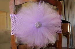 Wholesale Violets Flowers - Custom Made 2017 3D Flower Crystal Chair Covers Vintage Romantic Chair Sashes Beautiful Fashion Wedding Decorations
