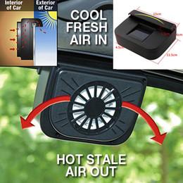 ABS Solar Powered Ventanilla del coche Parabrisas Auto Ventilación de aire Enfriador del sistema de ventilador. desde fabricantes