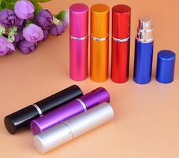 5 ML 10 ML Vacío Viaje Mini Portátil Perfume Perfumar atomizador Botellas de aerosol envases cosméticos Precio de fábrica al por mayor DHL GRATIS desde fabricantes