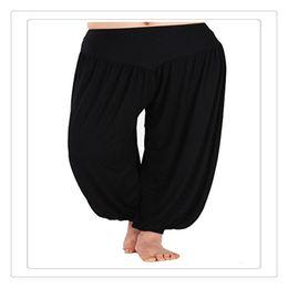 Wholesale womens dance - Outdoor Wear Yoga Pants Womens Modal Cotton Lady Soft Yoga Sports Dance Harem Pants Belly Dance Yaga Wide Pants Trousers Exercise Wear